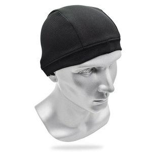 Motorcycle Helmet Inner Dome Cap Liner Sports Beanie Quick Drying Skull Hat ASD88