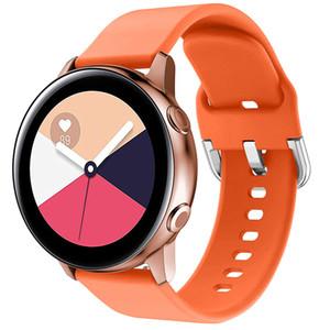Huawei Watch 2 Smartwatch Band Ücretsiz Nakliye için 20mm 22MM Silikon Kayış İçin Samsung Galaxy İzle Aktif 2