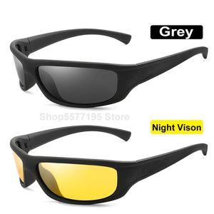 New Yellow Lense Night Vision condução óculos polarizados Homens Driving Sunglasses Polaroid Goggles Glare Reduzir 2020
