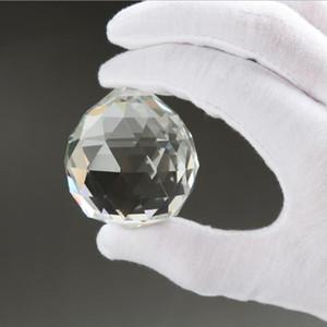 Maravillosa diámetro de 20 mm colgantes claros Esfera Prisma granos del espaciador pendiente de la bola de cristal cristalinos para el hogar boda lámpara de la lámpara Decoración