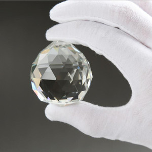 Wonderful diâmetro Hanging 20 milímetros cristalina Bola Esfera Prism Pingente Spacer Beads Para Casa Vidro Wedding Lamp Chandelier Decoração