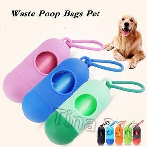 애완 동물 outdoorT2I5334 뜨거운 개 플라스틱 가방 휴대용 애완 동물 개 디스펜서 쓰레기 케이스 똥 가방 애완 동물 폐기물 가방 일회용 가방