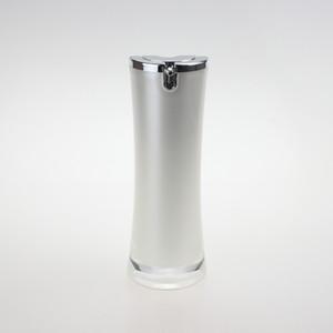 vente en gros 30ml emballage de soins de la peau, des bouteilles de 1 once cosmétiques blanc perle en gros, 30ml vider la bouteille en plastique de la pompe à émulsion