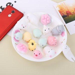 (42pcs lots) Random Mini Cute Soft Squishy Slow Rising Toy Stretchy Animal Seals Healing baby Toys