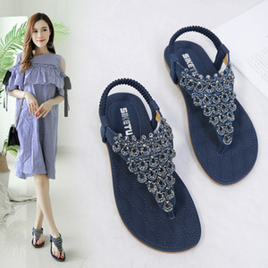 Alluring2019 Flower Nation Posimi Second Will 42 Code Flat Shoes Sandalias T588 -1