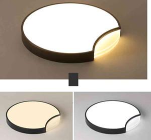 LED 천장 조명 침실 라운드 조명 현대 아크릴 luminaires 북유럽 거실 천장 램프 어린이 방 설비 LLFA