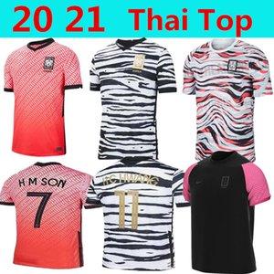 2020 لكرة القدم في جنوب جيرسي كوريا الجنوبية SON 20 21 كوريا المنزل بعيدا الأسود هيونغ KIM LEE KIM HO SON جيرسي لكرة القدم الفانيلة الرجال مخصصة