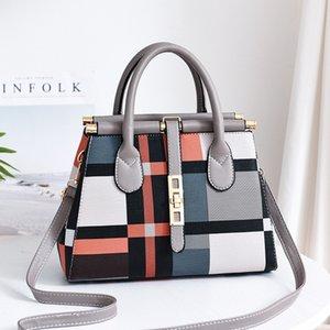 Diseñador bolsos 2019 nueva gran capacidad de gran bolsa estadounidense elegantes tendencia de la moda bolsa europea y el hombro bolso de señora