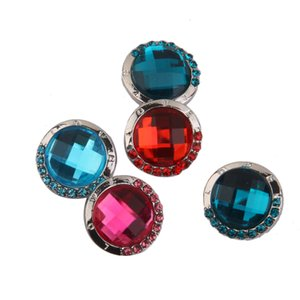 5pcs 18.5mm Rhinestone Chunky Snap Button For Bracelet Jewelry Findings