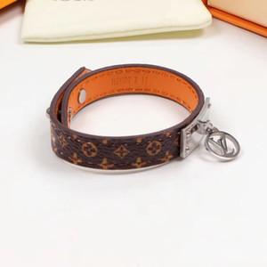 Top qualidade Printing Estrelas cores café Cor pares de couro pulseira pulseira do punk fivela pulseiras casal senhoras Hiphop pulseira para homens