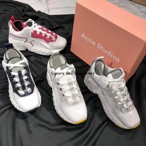 Akne Studios Ayakkabı moda tasarımcısı Günlük Ayakkabılar Lüks ayakkabı kadınlar Kombinasyon Azot Taban Kristal Alt baba Casual ayakkabılar En iyi kalite