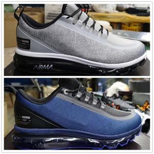 2019 homens quentes sapato tênis preto vermelho Jogging Walking azul e branco mens formadores tênis esportivos tamanho 40-45
