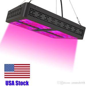 USA Stock-Platz LED wachsen Lichter für Zimmerpflanzen 600W, Led wachsen Licht Full Spectrum Wachsende Lampen mit UVIR Daisy Chain Funktion