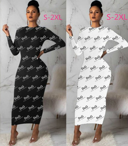 Vestido de una pieza para mujer falda de manga larga camisa vestido sexy desgaste labio impresión vestido Casual alta calidad mujeres ropa kl2900