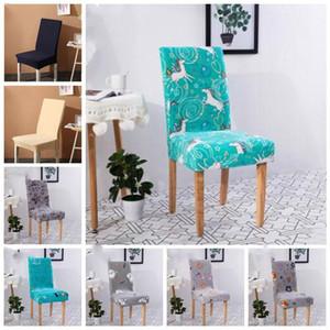 Sandalye Kapak Kadife Elastik Sandalye slipcovers Katı Renkler Vaka Odası Koltuk Kapak Ev Otel Düğün Süsleme LXL993-1 Yemek Seat