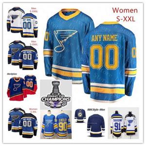 2019 St. Louis Blues 90 Retro Hockey Vladimir Tarasenko Ryan OReilly Binnington Alex Pietrangelo Jaden Schwartz Parayko Campeões Jerseys