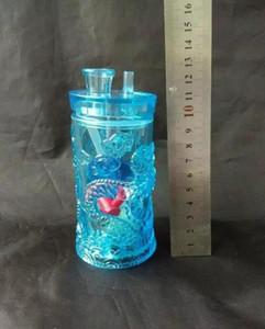 Acrylique avec le dragon narguilé, Pipes huile brûleur de verre en gros tuyaux d'eau Pipe en verre huile fumante Rigs, Livraison gratuite