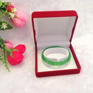 Qualité Red Velvet Bijoux Boîtes d'emballage cadeau et organisateur pour Bracelet Montre Bracelet Vintage à bijoux grande quantités Logo personnalisé