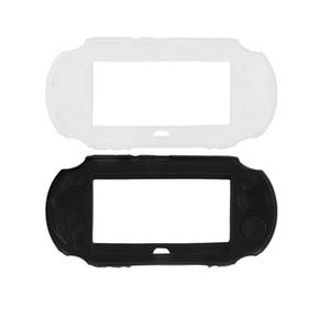 Estuche protector de caucho de silicona suave para Sony PlayStation PS Vita casos 2000 consola de juegos cubierta PSV2000