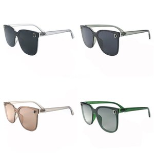 Excellent Quality Fashion Designer Sunglasses Semi Rimless Sun Glasses For Womens Gold Frame Green G15 Glass Lenses With Cases And Box#895