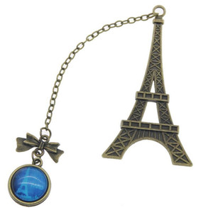 Creative Vintage Eiffel Tower Metal Bookmarks For Book Kids Birthday Gift Wedding Party Favor For Guest