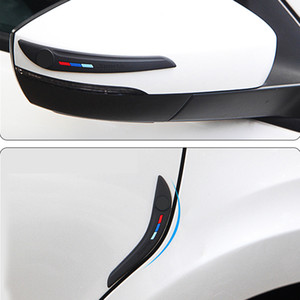 utomobiles & Motorcycles Car Door Side Edge Protection Vehicle Bumper Rear View Mirror Corner Protector Guard Scratch Sticker Rubber Sila...