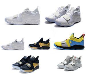 Chegue combate real versão PG 2,5 PlayStation Taurus Estrada Shoes Mestre de basquete Paul George PG2.5 Esporte Tênis
