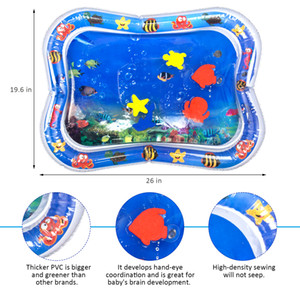 Baby Inflatable Water Cushion Best Summer Toy Home Mats Seat Infant Tummy Time Fun Play Mats Babies
