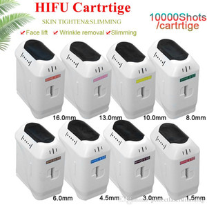 3D HIFU Subsidiary Supplies 10000 shots HIFU Cartridge face lifting body shape wrinkle removal once press 11 lines