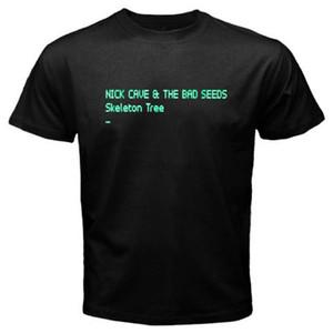 Nouveau Nick Cave Les mauvaises graines squelette arbre MenBlack T-Shirt Taille S À 3XL Mâle Hip Hop Drôle T-Shirts pas cher en gros