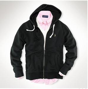 2019 nuevos hombres calientes camisa polo camisa con capucha otoño e invierno sudadera ropa casual con capucha chaqueta deportiva diseñador de los hombres con capucha