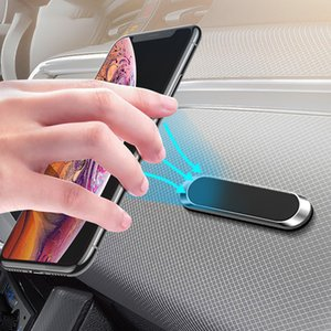 Multi-functional Metal Magnetic Car Phone Holder Stand For iPhone 11 Pro Samsung Xiaomi Huawei Wall Metal Magnet GPS in Car Mount Dashboard