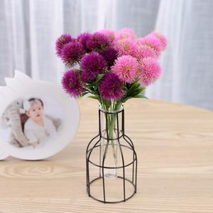 Одностебельный одуванчик искусственные цветы моделирование одуванчика пластиковый цветок свадебное украшение длина 26 см стол центральные части DBC BH2698