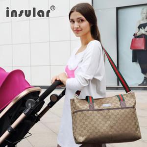 Multifuncional Mummy Maternidade saco de fraldas de enfermagem Bag Bolsas Mensageiro Waterproof Stroller Designer Stroller bebê Mochila