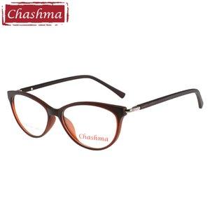 Чашма бренд Кошачий глаз очки lentes opticos mujer мода TR90 высокое качество оптические очки рамки для женщин рецепт стекло T200428