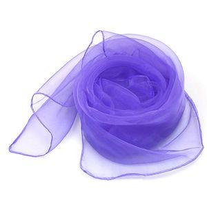 Caliente puro del cuadrado del color Malabares danza bufandas Plazoleta del color del caramelo de la bufanda del color sólido de la bufanda Accesorios Mayorista Moda 2020