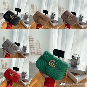 Дизайнерские роскошные сумки кожаные кошельки женщины цепи плечо бренд мода сумка мужчины кошелек 2020 новый стиль