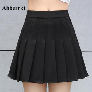 Printemps et été femmes coréennes taille haute mini jupe plissée filles tennis jupe école jupe courte Falda Cuero Cosplay