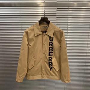 2020 Yeni lüks markalar tasarım BBR harfler Haki Ceket Erkekler Kadınlar Açık Streetwear Kazak Hoodies yazdırmak