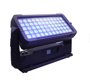 60 * 10W RGBW 4IN1 City Color LED Uplight IP65 LED الجدار غسالة الجدار اللون المدينة IP65 Bar Club wall Wash Light