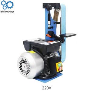 C-GE-L Vertical Type Woodworking Belt Threling Machine Small Desktop Household Multifunctional Belt Sander 1500W 220V / 380V
