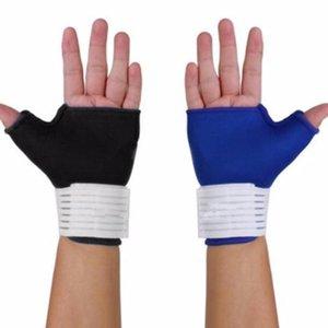Handgelenk Hand Unterstützung Half Finger Sporthandschuhe Outdoor-Sportbekleidung Accessoires Fahrrad Mountainbike Handschuhe Reitzubehör