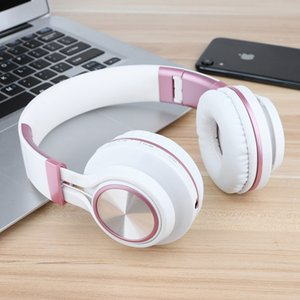 Earphone headphones music headsets wireless wired headphone support TF card FM