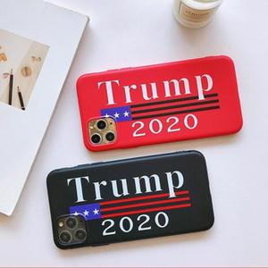 Iphone Koruyucu Şeffaf Sert Telefon Kapak IIA31 İçin Trump Telefon Kılıfı 2020 başkan Darbeye Zırh Telefon vakası