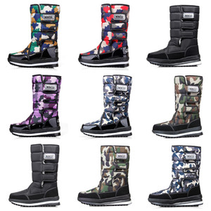 TOP Quality Luxury designer women men boots Camo Half Boot mens snow winter boots waterproof platform booties 36-46
