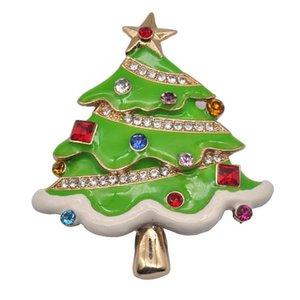 Масло капает елки высокого класса кристалл брошь украшения Рождественский подарок серии 2019 новые творческие украшения