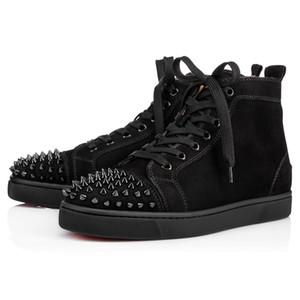 Kutu Toz Torbalı 2020 Sneakers Ayakkabı Orlato Flats Hight-Top Kırmızı Alt Dikenler Flats Tasarımcı Sneakers Erkek Kadın Günlük Ayakkabılar