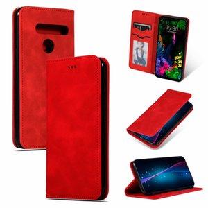 Für lg g8 case flip brieftasche abdeckung ultradünne heiße dünne kühle luxus original pu leder case für lg g8s g8