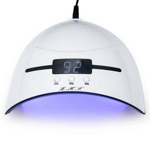 36W prego Secador de LED UV Lamp Micro prego USB para lâmpadas de secagem Gel LED Builder 3 Modo temporizado com secador de unhas sensor automático