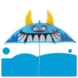 Eco-Friendly Ear Enfants Umbrella 3D pour filles garçons mignon enfants parapluie créatif longue poignée animal école parapluie cadeau d'anniversaire